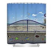 Buccaneer Beach Shower Curtain