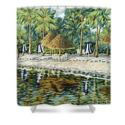 Buccaneer Island Shower Curtain