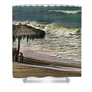 Bucerias Beach Mexico  Shower Curtain