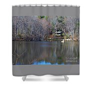 Buck Lodge Shower Curtain
