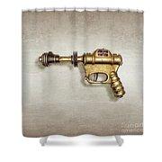 Buck Rogers Ray Gun Shower Curtain