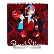 Buck Slims Cigarettes Shower Curtain