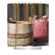 Buckets Shower Curtain