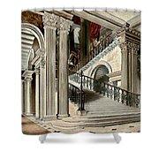 Buckingham House Stair Case Shower Curtain