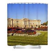Buckingham Palace, London, Uk. Shower Curtain