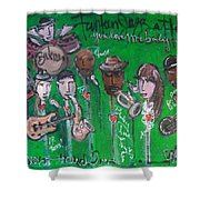 Buckner Funken Jazz Shower Curtain