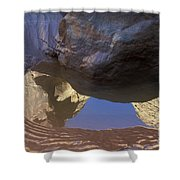 Buckskin Gulch Reflection Shower Curtain