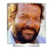 Bud Spencer Shower Curtain