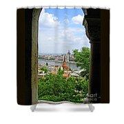 Budapest Shower Curtain