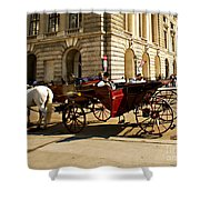 Vienna Buggy Man Shower Curtain