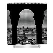 Budapest, Hungary Shower Curtain