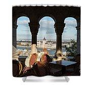 Budapest I Shower Curtain