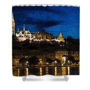 Budapest - Id 16236-104947-3830 Shower Curtain