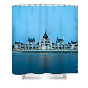 Budapest Parliament Building Shower Curtain