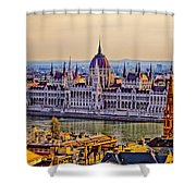 House Of The Nation Shower Curtain