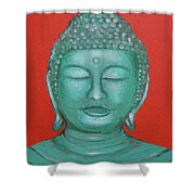 Buddah I Shower Curtain