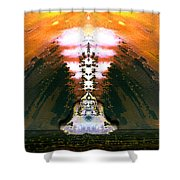 Buddahs Dream Shower Curtain