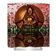 Buddha Garden Shower Curtain
