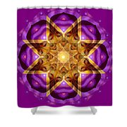 Buddha Mandala Shower Curtain