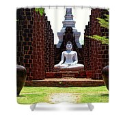 Buddha Samadhi Shower Curtain