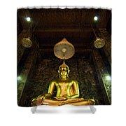 Buddha Sitting Shower Curtain