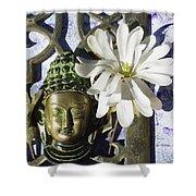 Buddha - Spring Shower Curtain