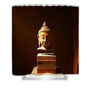 Buddhism In Belgium Shower Curtain