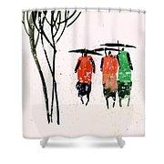 Buddies 3 Shower Curtain