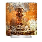 Budha Textures Shower Curtain