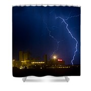 Budweiser  Storm Shower Curtain