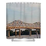 Bueatiful Bridge Shower Curtain