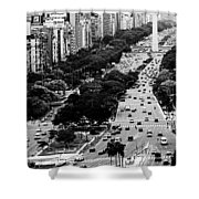 Buenos Aires Shower Curtain
