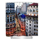 Buenos Aires Street I Shower Curtain