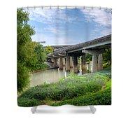 Buffalo Bayou Houston Shower Curtain