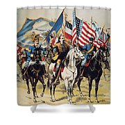 Buffalo Bill: Poster, 1893 Shower Curtain by Granger