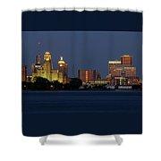 Buffalo Blue Hour Shower Curtain