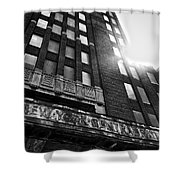 Buffalo Central Terminal Shower Curtain