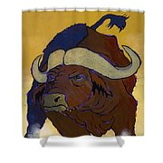 Buffalo Fury Shower Curtain