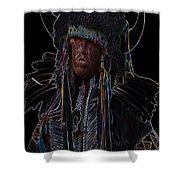 Buffalo Hunter Shower Curtain