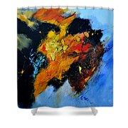 Buffalo-like Abstract  Shower Curtain