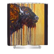 Buffalo Mania Shower Curtain