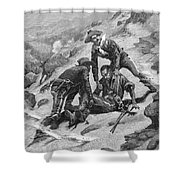 Buffalo Soldier, 1886 Shower Curtain