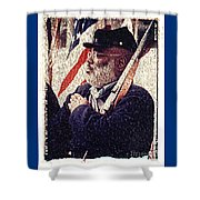 Buffalo Soldier Shower Curtain
