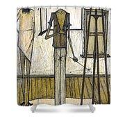 Buffet: Artist, 1948 Shower Curtain