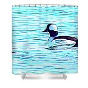 Buffleheads Shower Curtain