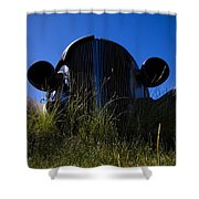 Bug Eyes Shower Curtain