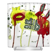 Bug Friend Shower Curtain