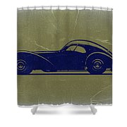Bugatti 57 S Atlantic Shower Curtain by Naxart Studio