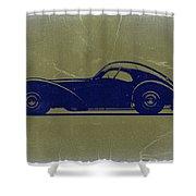 Bugatti 57 S Atlantic Shower Curtain by Naxart Studio