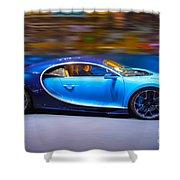 Bugatti Chiron 2 Shower Curtain